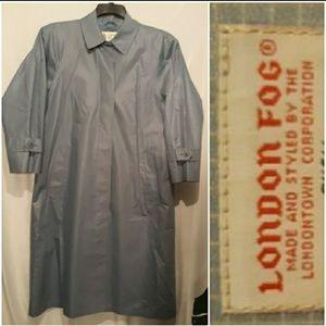 London Fog Gridlines Raincoat